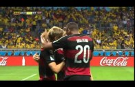 FIFA World Cup 2014 – Germany vs Brazil semifinals 7-1 All Goals