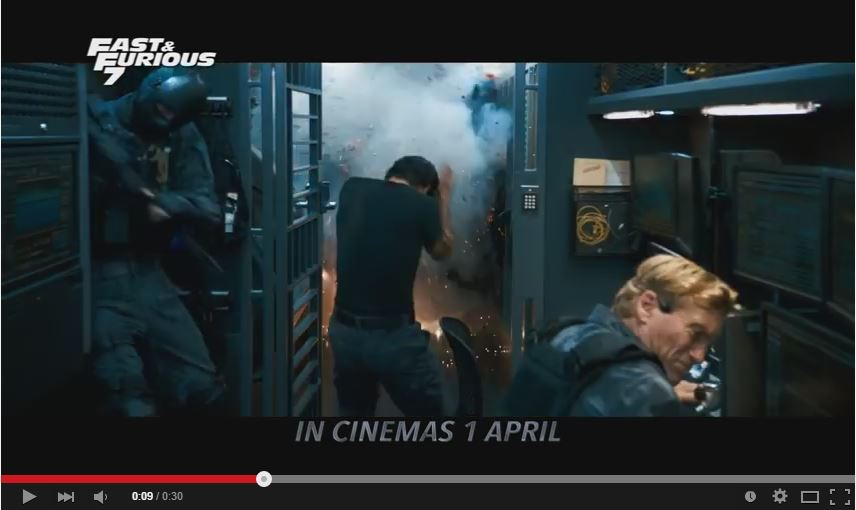 "OPPO R5 TVC: ""Fast & Furious 7 – 30s"""