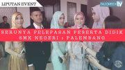 Serunya Pelepasan Peserta Didik SMK Negeri 1 Palembang