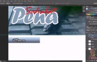 Desain Template web  dari Photoshop CS6 thumbnail